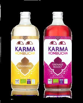 Le Karma Kombucha voit grand!