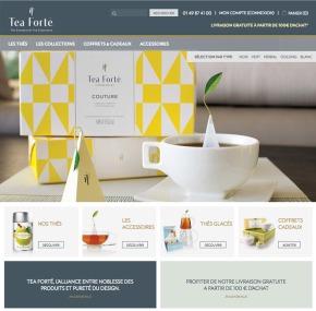 Un nouveau site pour TeaForté
